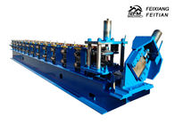 Fully Automatic C U Channel Roll Forming Machine With 10 - 12m/Min Speed