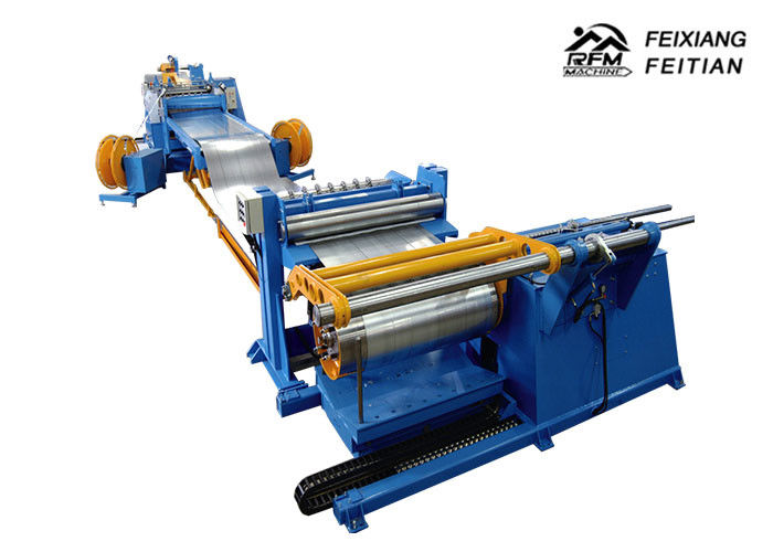 Professional Cutting And Slitting Machine HR CR SS GI Steel Coil Slitting Machine