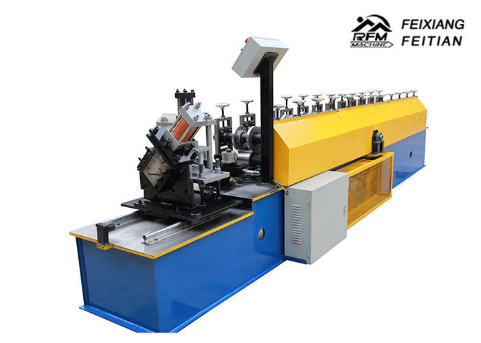 PLC Control Metal Stud And Track Roll Forming Machine / Drywall Stud Roll Forming Machine