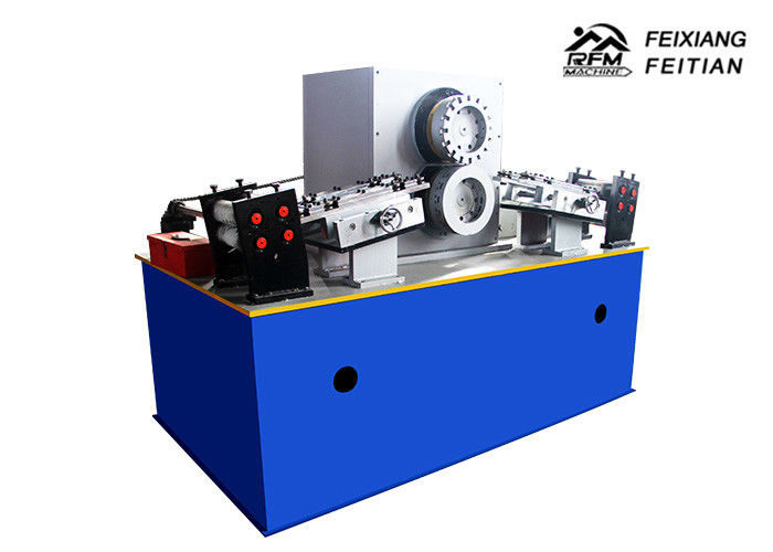 Coil Sheet Rolling Rotary Punching Machine Gear Drive With Servo Feeder