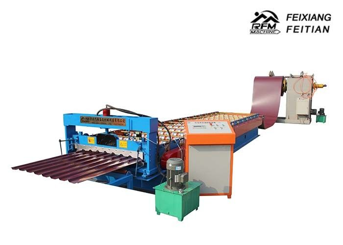 Durable Metal Steel IBR Sheet Roll Forming Machine For Road Construction
