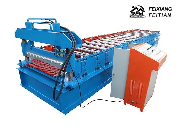 Steel Metal Windows Roller Shutter Door Roll Forming Machine With 1200mm Feeding Width