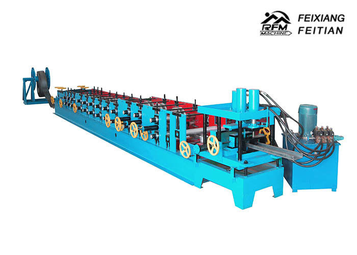Metal Steel C Purlin Roll Forming Machine 1.5 - 3mm Thickness With 80mm Roller Diameter